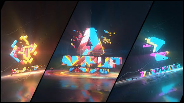 Colorful Abstract Logo Reveal - 31661522 Download Videohive