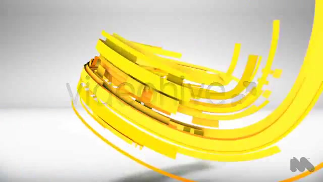 Colorful Abstract Vector Lines into 3D Logo Reveal - Download Videohive 4558828