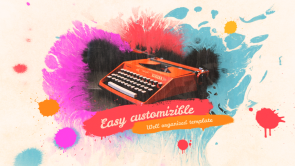 Colorful Ink Slideshow - Download Videohive 17094960