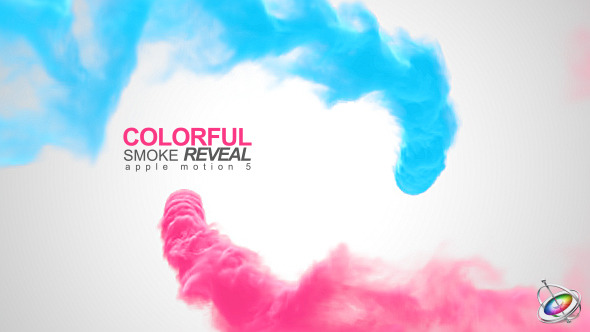 Colorful smoke reveal apple motion download videohive 10284915 maxwellsz