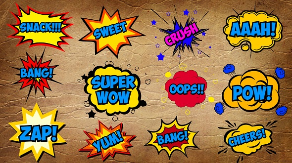 Comic Bubbles - Download Videohive 17780522
