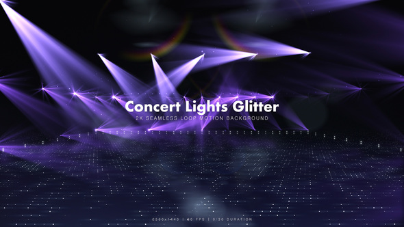 Concert Lights Glitter 3 - Download Videohive 13578381
