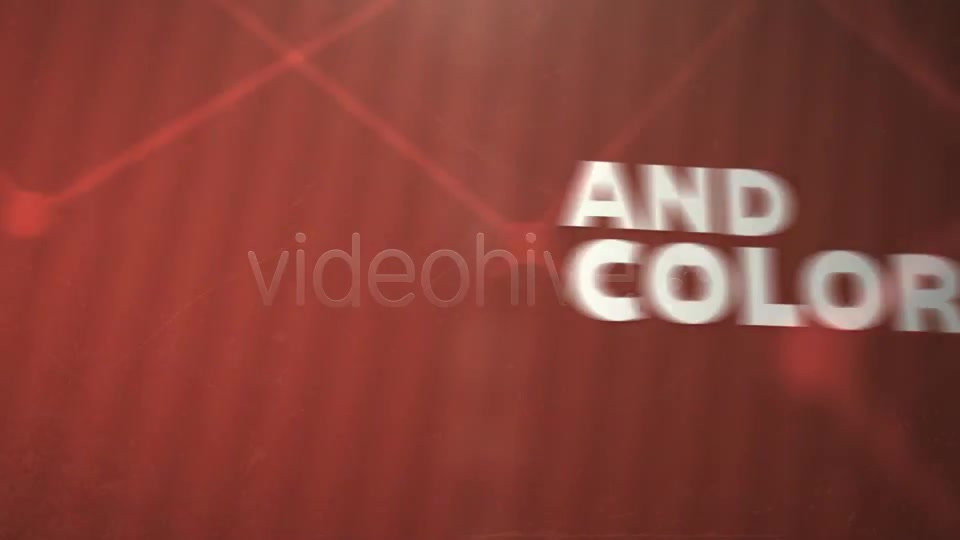 Connect the Dots Text and Pictures Animation - Download Videohive 3888215