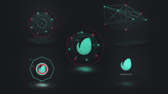 Connected Shapes Logo Reveal - Download Videohive 19301489