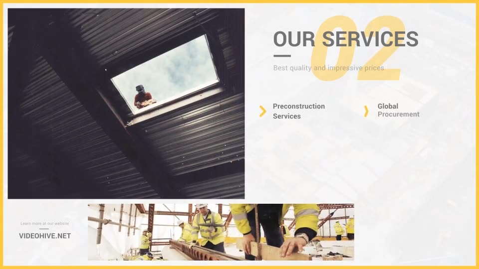 Construction Portfolio Presentation - Download Videohive 12238910
