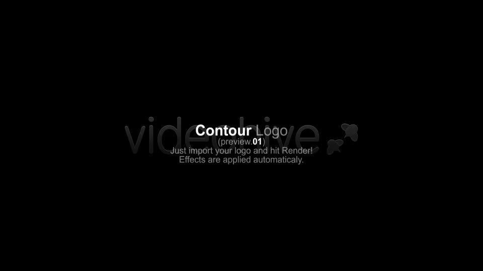 Contour Logo / Social Media Network - Download Videohive 3290890