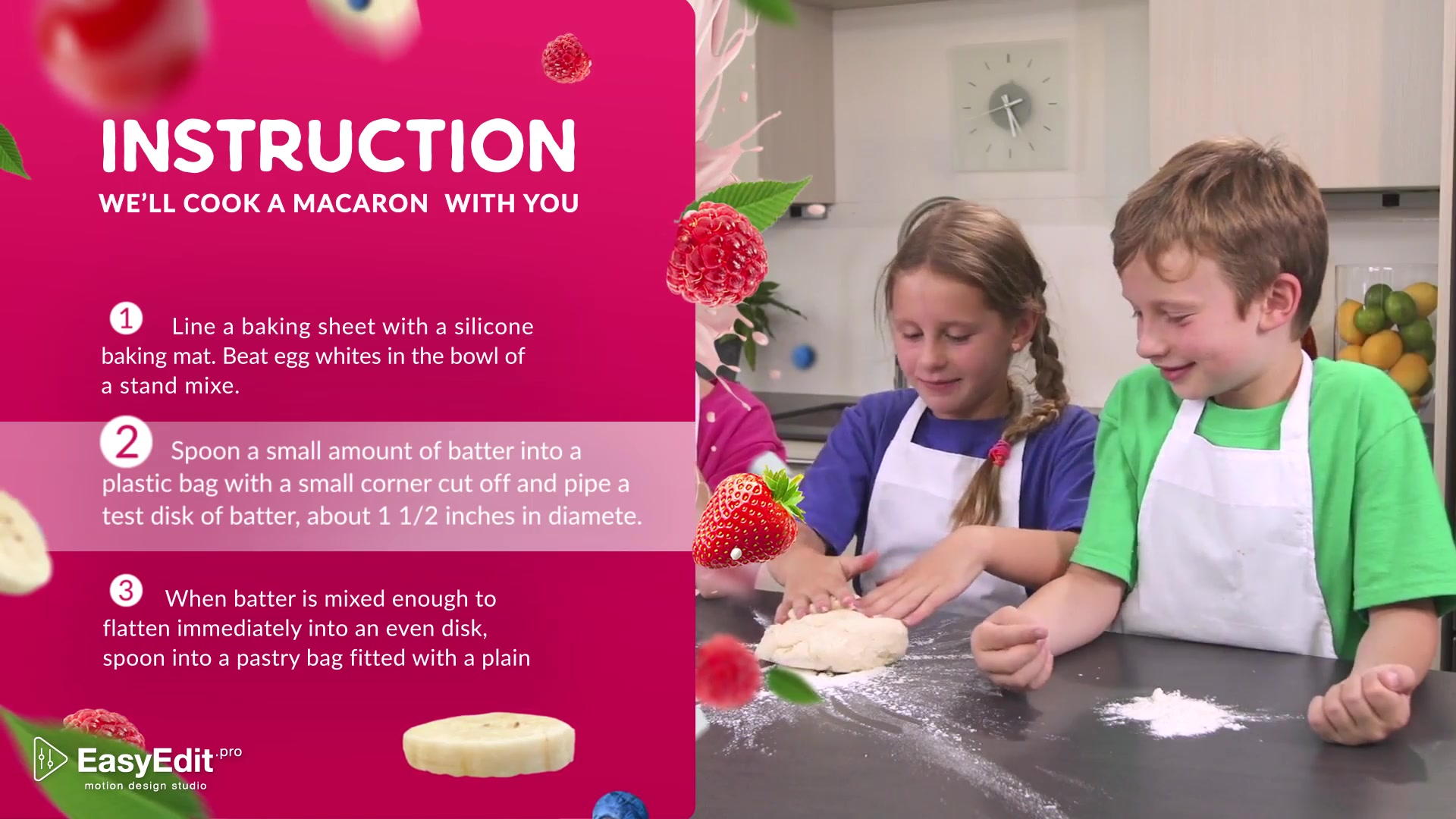Cooking Design Pack Kids Food - Download Videohive 19948635