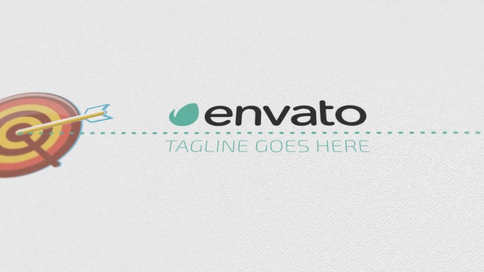 Corporate Logo Opener With Elements Of Infographics - Download Videohive 17208550
