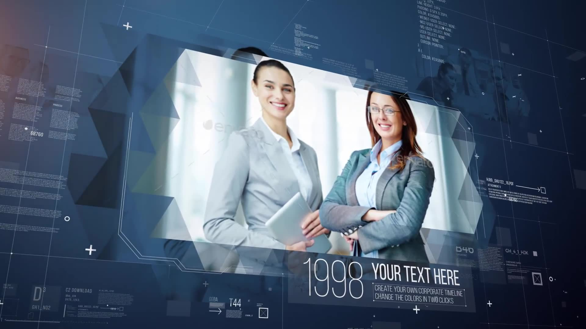 Corporate Timeline - Download Videohive 18996870