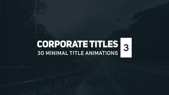 Corporate Titles 3 - Download Videohive 17164923