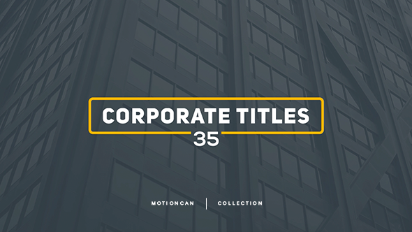 Corporate Titles - Download Videohive 17448480