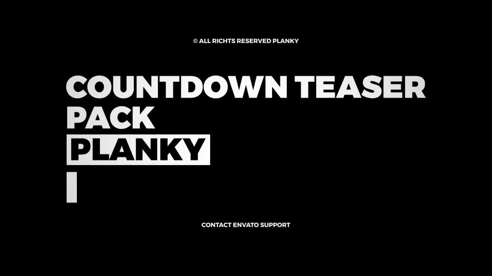 Countdown Teaser - Download Videohive 21037722