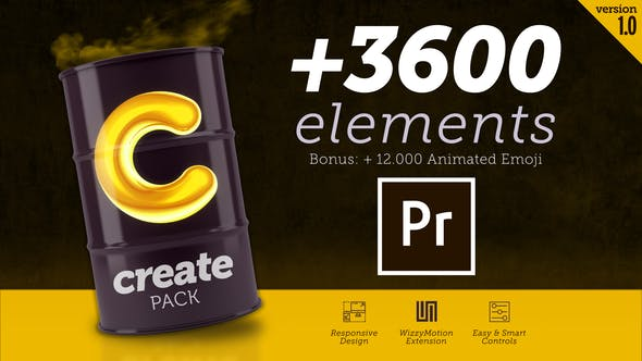 Create Pack for Premiere - Videohive 28172328 Download