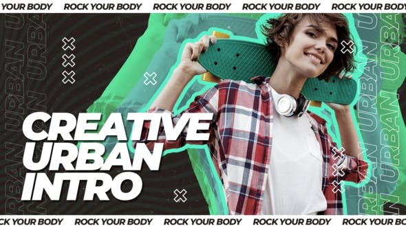 Creative Urban Intro - 29289817 Videohive Download