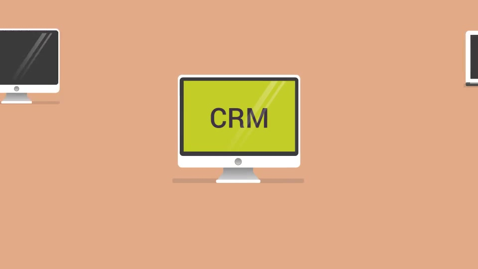CRM Company Marketing Presentation With Character - Download Videohive 13512299