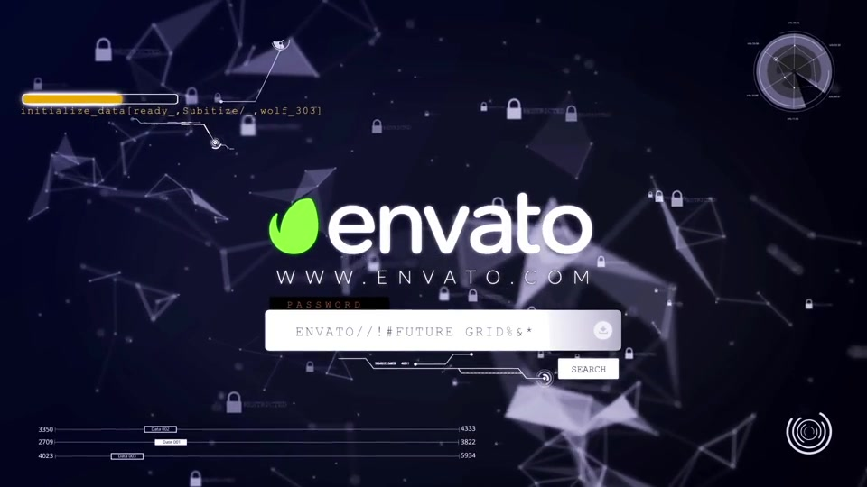 ctOS Login Hack Logo Reveal - Download Videohive 12372249