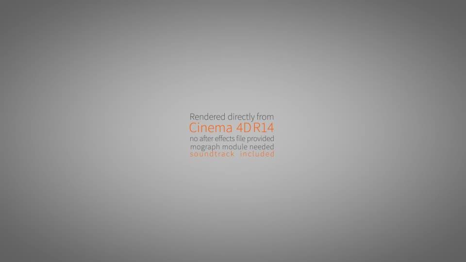 Cubist C4D Logo Animation - Download Videohive 8543004