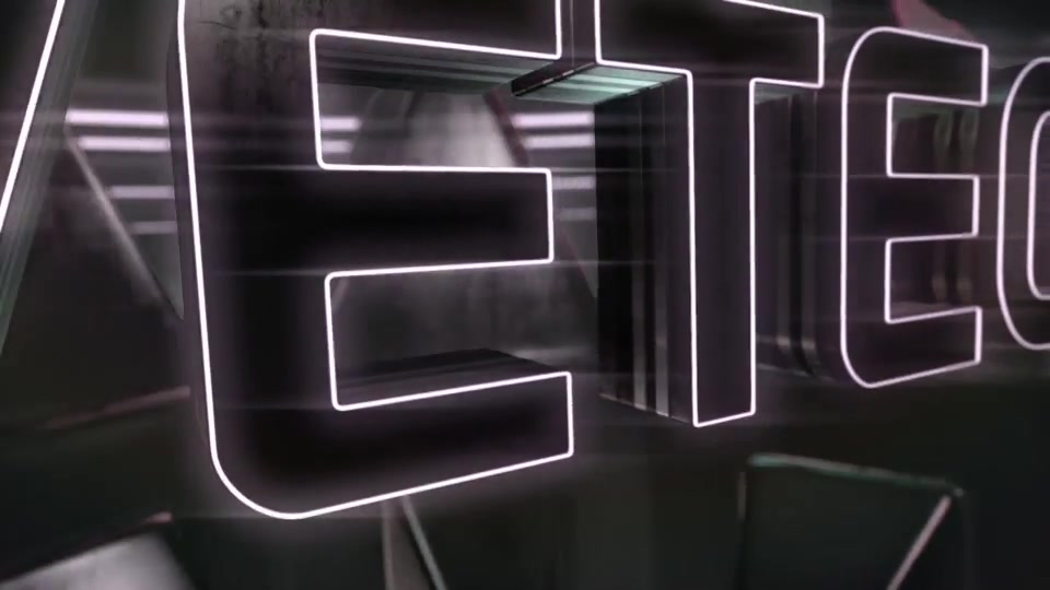Cyber Dark Neon Logo Reveal Videohive 23306666 After Effects Image 9