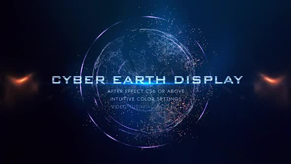 Cyber Earth Photo Promo - Download Videohive 19532922