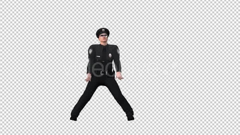 Dancing Police Officer - Download Videohive 19697083