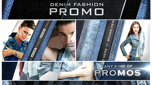 Denim Fashion Promo - Download 5372240 Videohive