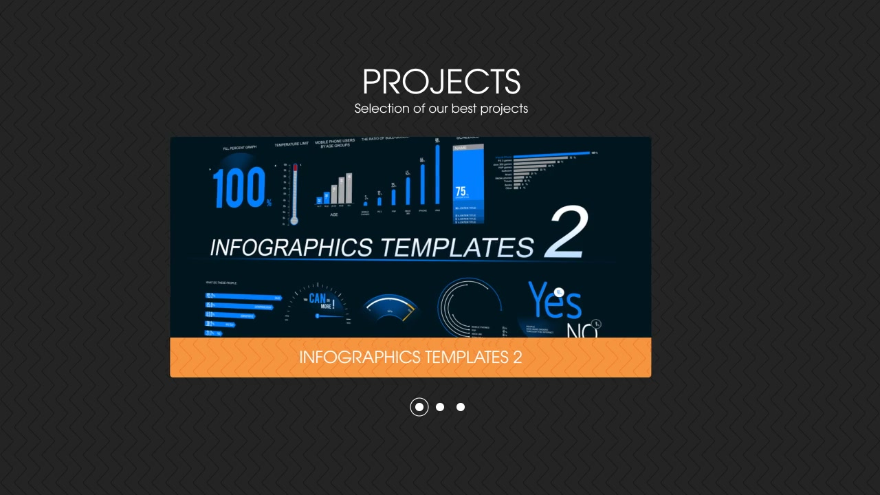 After effects infographic template