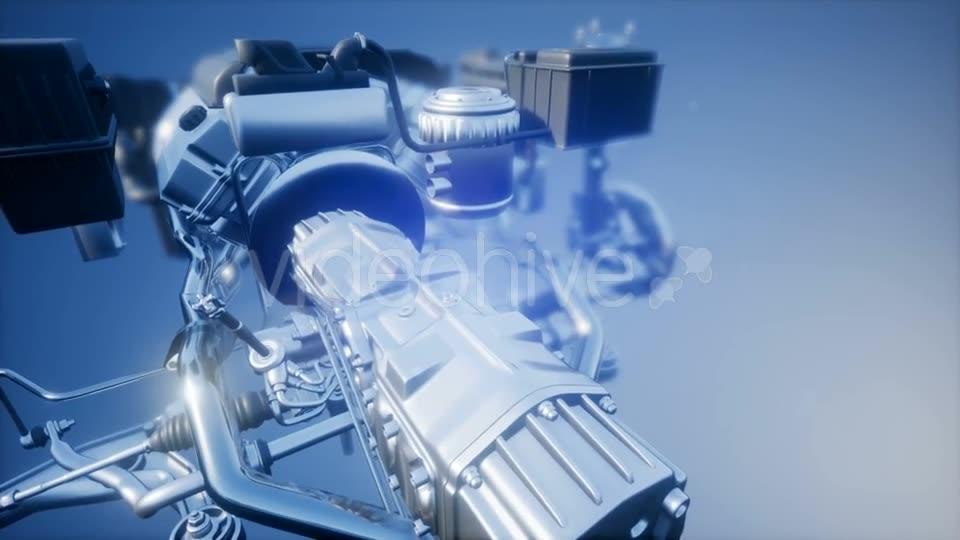 Detailed Car Engine and Other Parts - Download Videohive 21485024