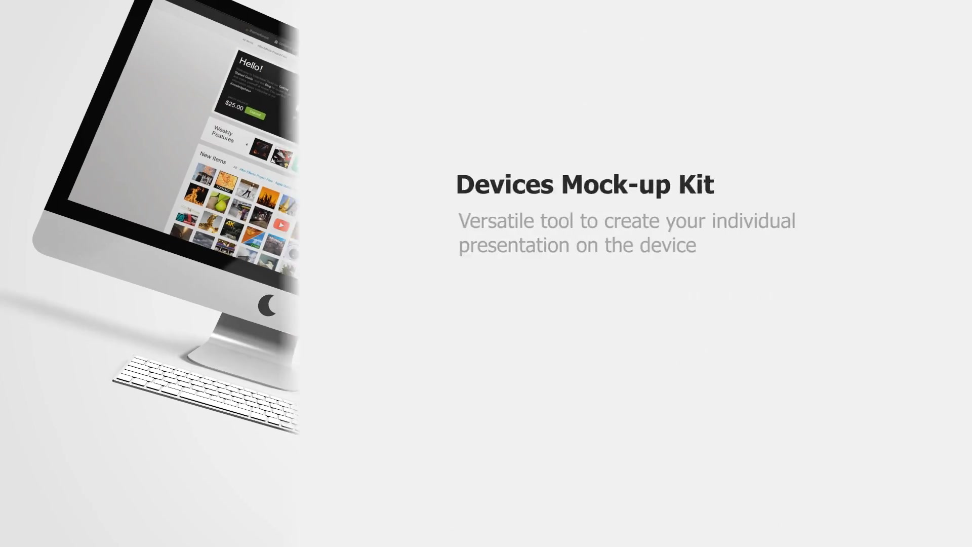 Devices Mock up Kit - Download Videohive 7129058