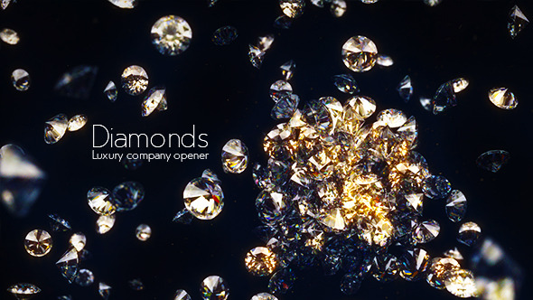 Diamonds — Luxury Company Opener - Download Videohive 10590252