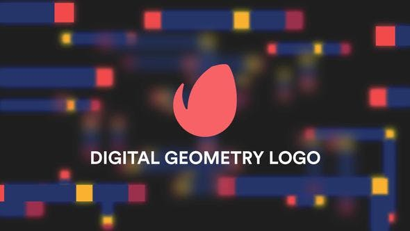 Digital Geometry Logo Reveal - Videohive Download 22310291