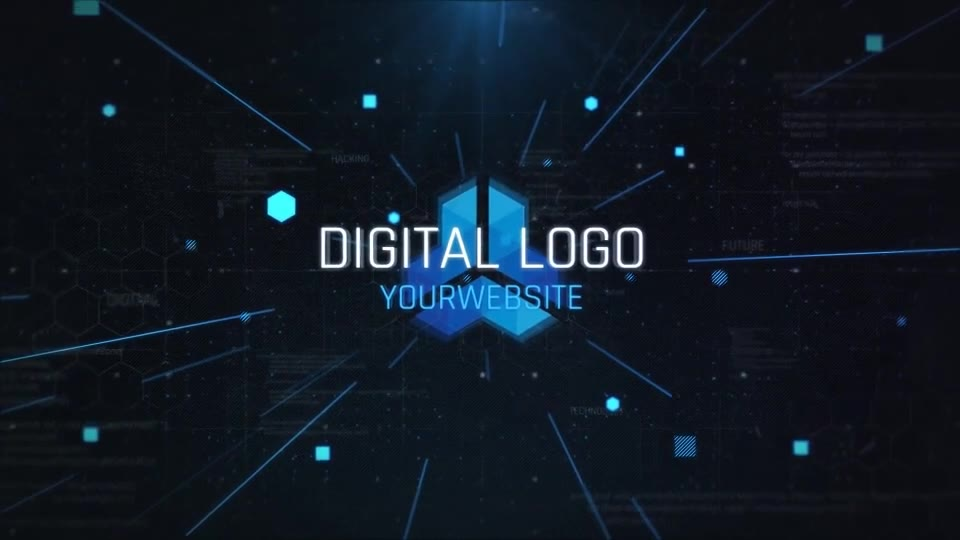 Digital Logo Opener Videohive 24802271 After Effects Image 10