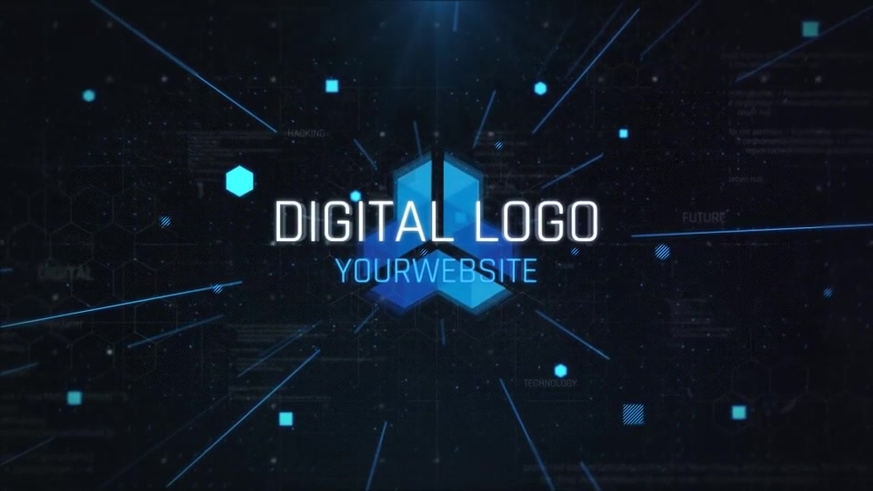 Digital Logo Opener Videohive 24802271 After Effects Image 7