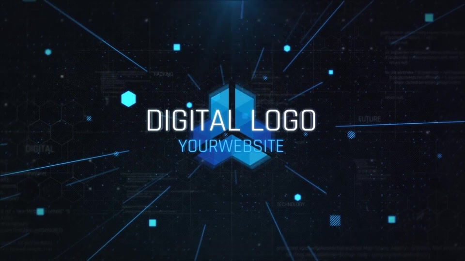 Digital Logo Opener Videohive 24802271 After Effects Image 8