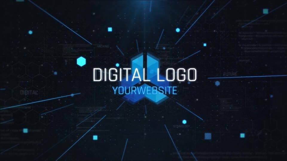 Digital Logo Opener Videohive 24802271 After Effects Image 9