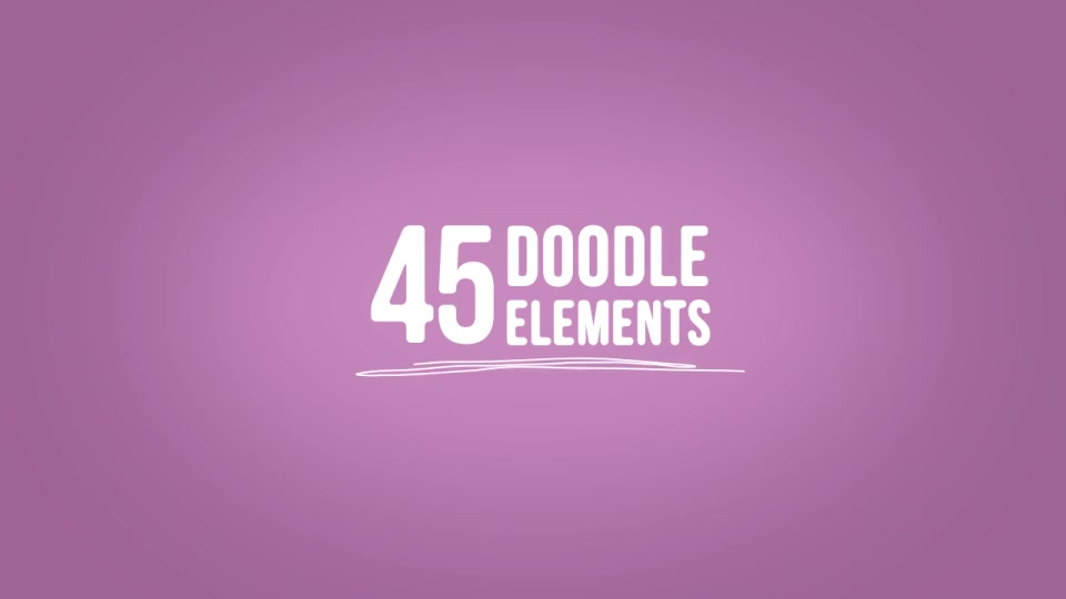 Doodle Elements - Download Videohive 9132230