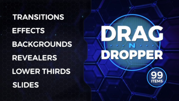 Drag n Dropper Motion Pack - Download Videohive 20260591