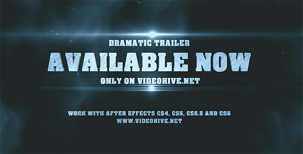 Dramatic Epic Trailer - Download Videohive 8350161