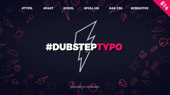 Dubstep Typography (opener) - Download Videohive 20028317