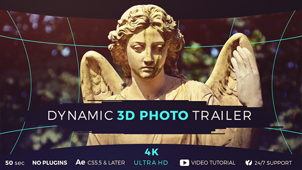 Dynamic 3D Photo Trailer - Download Videohive 17798000