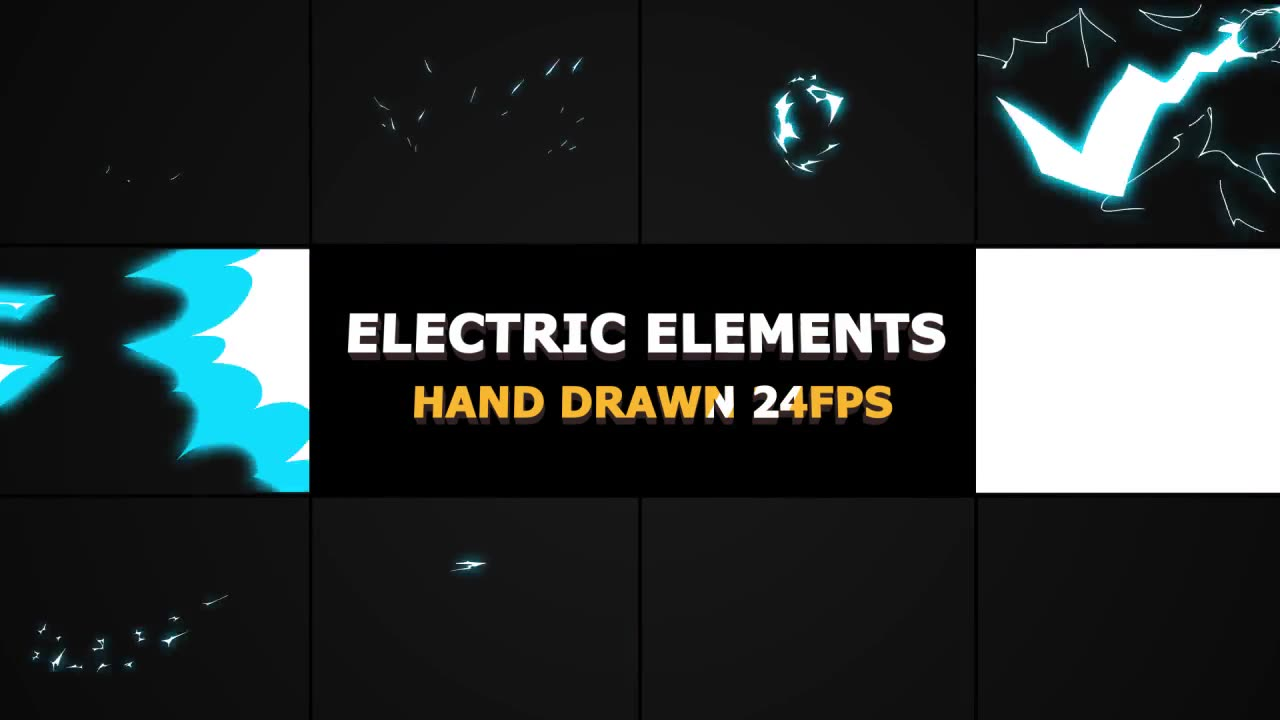 Dynamic ELECTRIC Elements - Download Videohive 21509030