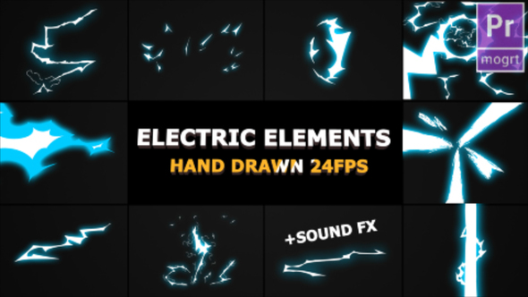 Dynamic Electric Elements - Download Videohive 22689397