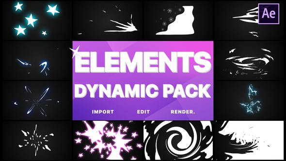 Dynamic Elements | After Effects - Download Videohive 25499853