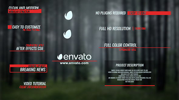Dynamic Lower Thirds - Download Videohive 14424501