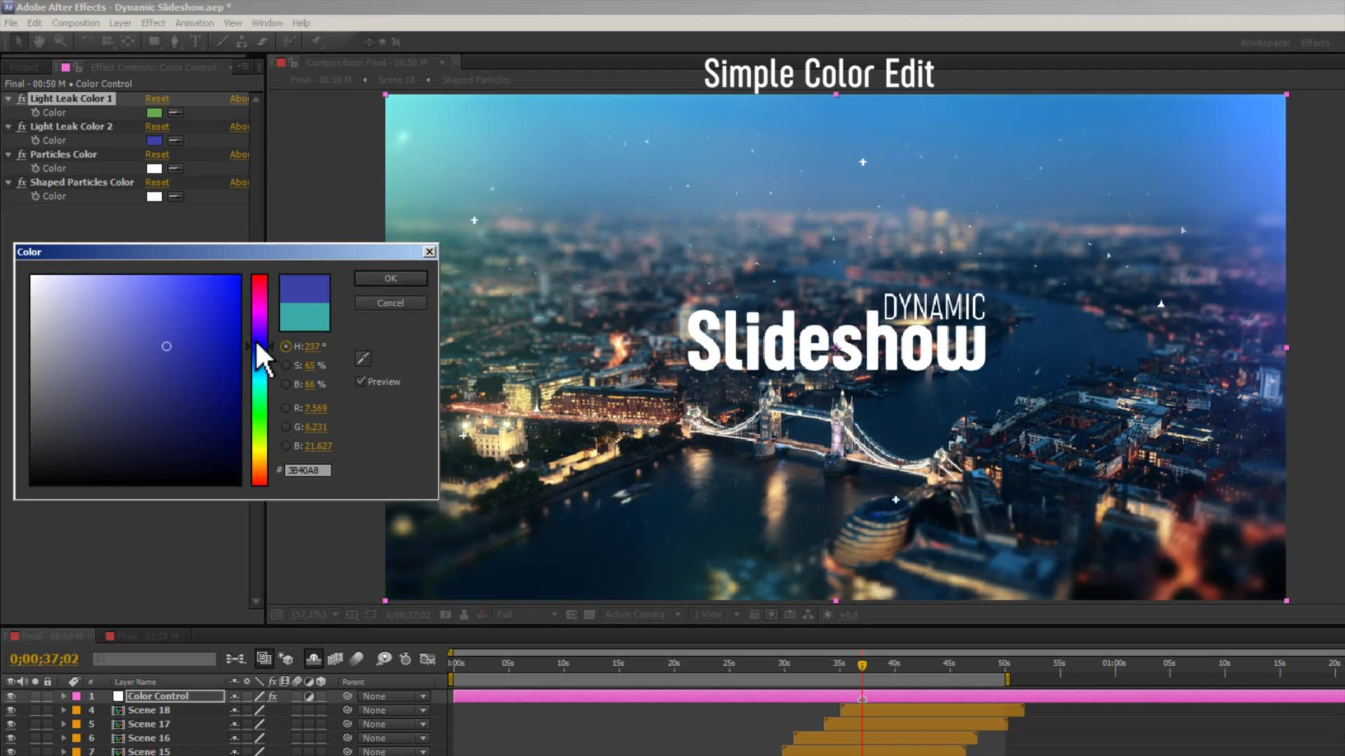 Dynamic Slideshow - Download Videohive 22797718