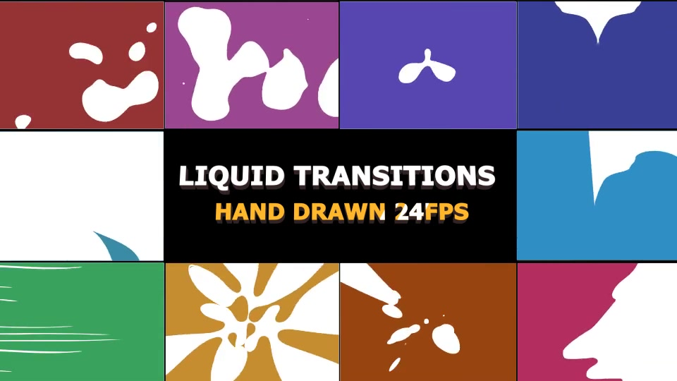 Dynamic Splash Transitions - Download Videohive 21251306