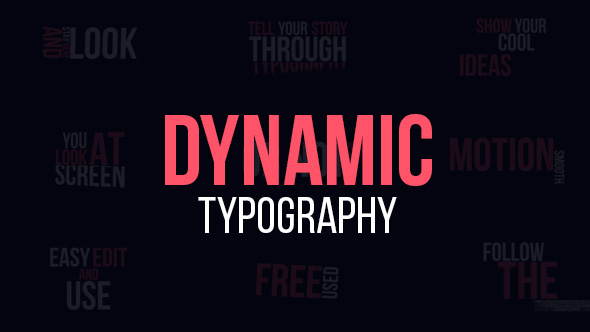 Dynamic Typography - Download Videohive 19307853