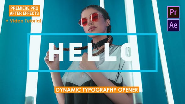 Dynamic Typography Opener Mogrt - 25004096 Download Videohive