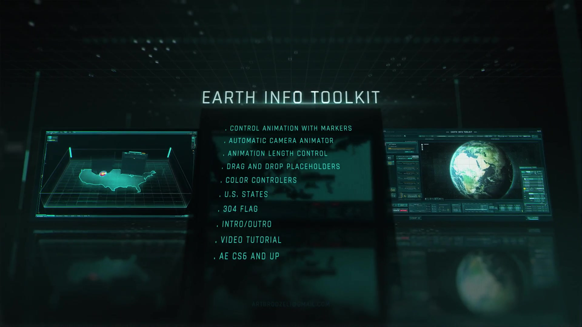 Earth Info Toolkit - Download Videohive 21032136