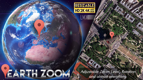 Earth Zoom - Download Videohive 19368527