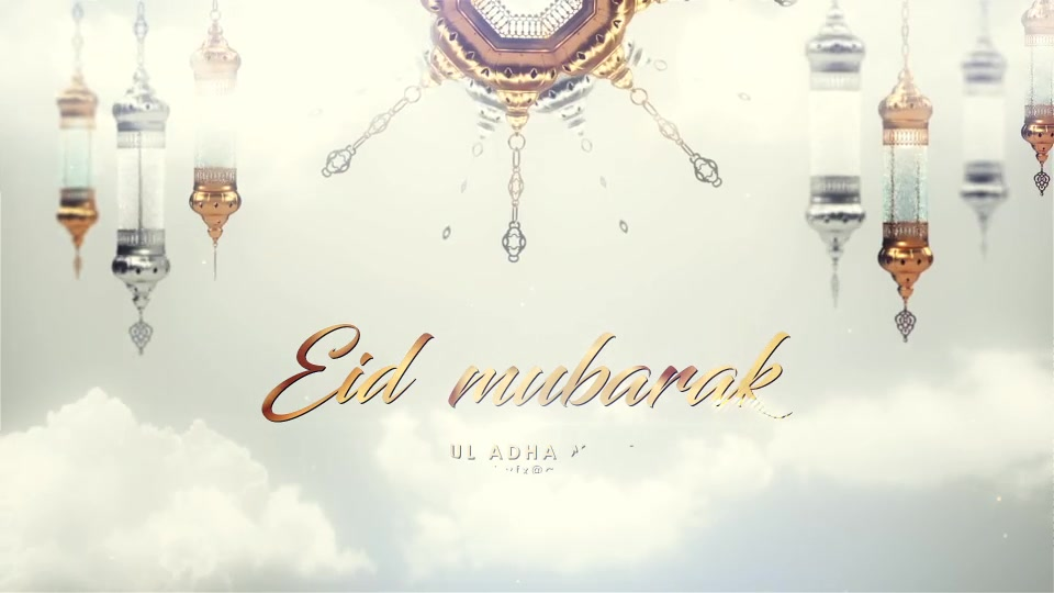 EID Mubarak Opener Videohive 24319157 After Effects Image 4